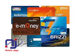 Cetak E-Toll Custom | E Money Mandiri | Brizzi BRI | Flazh BCA | TapCash BNI | Blink BTN