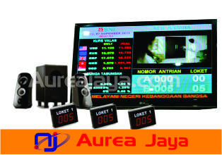 Mesin Antrian Multimedia BNI
