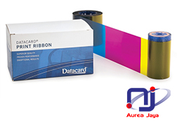 [P/N: 506276-001] Ribbon YMCK Color Datacard SR200 (e-KTP)